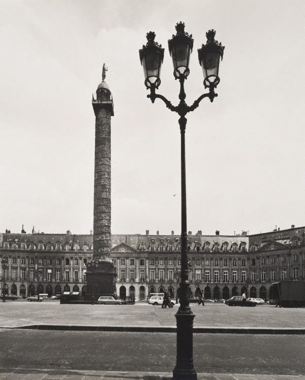 Max Dupain. 'Untitled (Place Vendôme with the column)' 1978