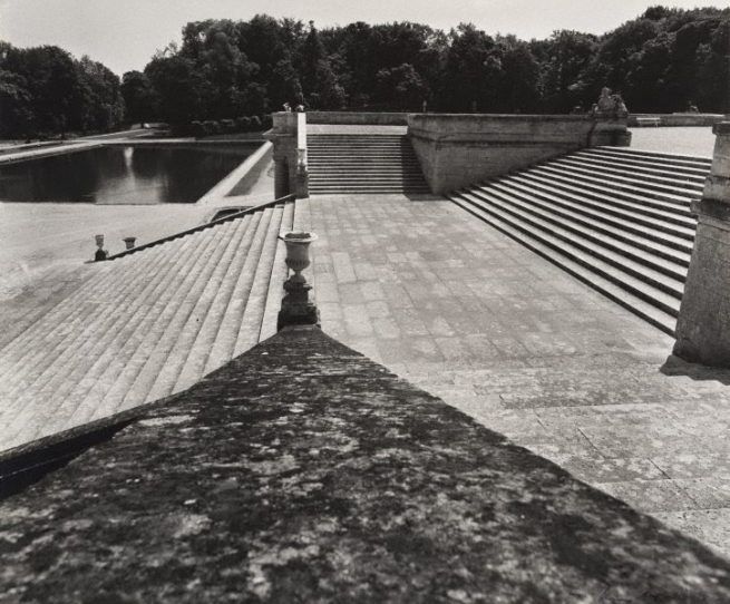 Max Dupain. 'Untitled (staircase to the park, looking toward Bassin des Serruriers, Domaine de Chantilly)' 1978