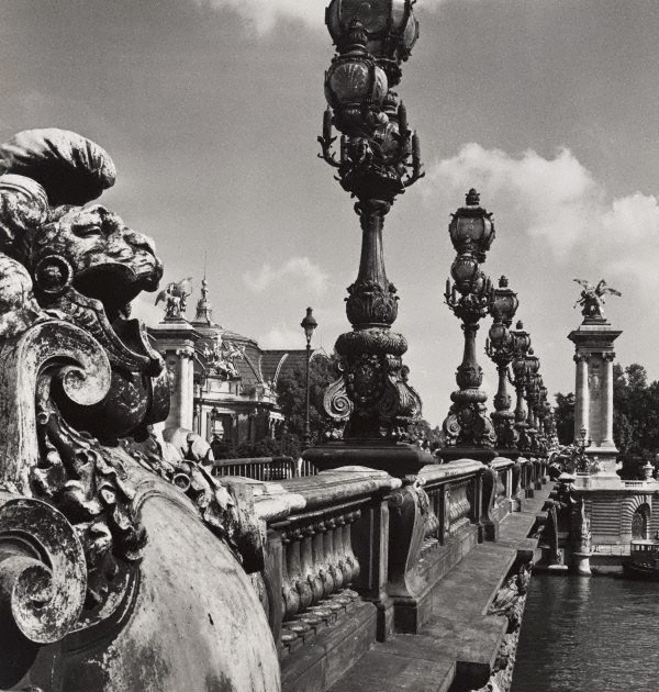 Max Dupain. 'Untitled (the balustrade of Pont Alexandre III)' 1978