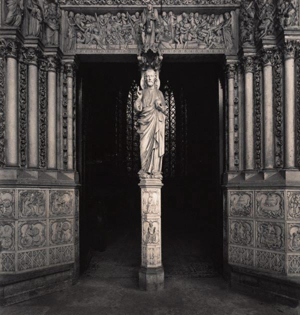 Max Dupain. 'Untitled (the statue of Christ at the portal of La Sainte-Chapelle)' 1978