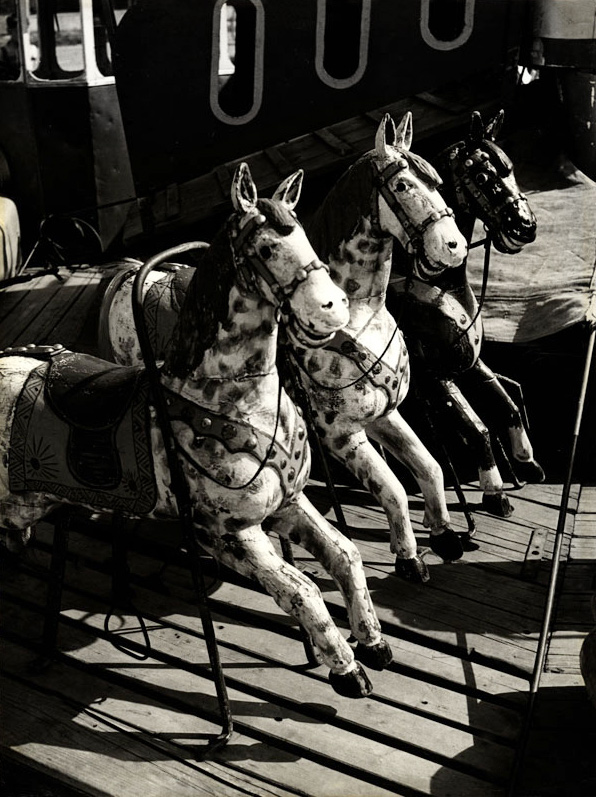 Václav Chochola. 'Kolotoc-Konieci' (merry-go-round horse) c. 1958