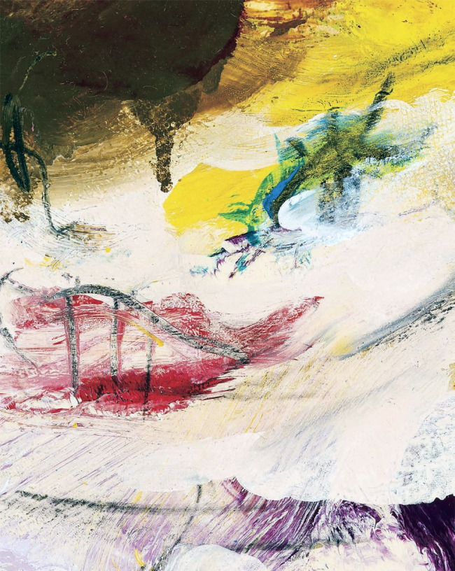 Willem de Kooning. 'Untitled (Woman)' (detail) 1965