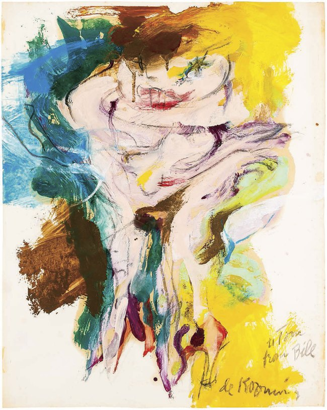 Willem de Kooning. 'Untitled (Woman)' 1965