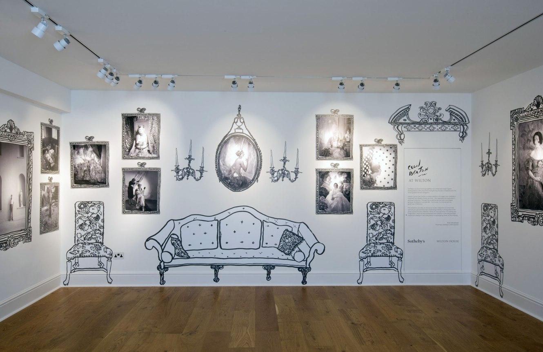 'Cecil Beaton at Wilton House' installation view