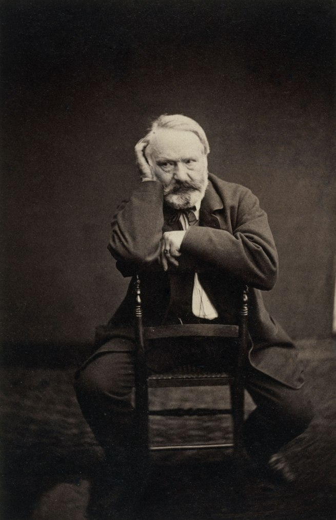 Edmond Bacot. 'Victor Hugo en 1862' (Victor Hugo in 1862)
