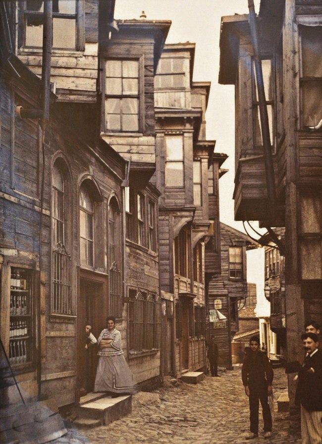 Stephane Passet. 'Turkey, Istanbul, Pera' (today: Beyoğlu) September 1912