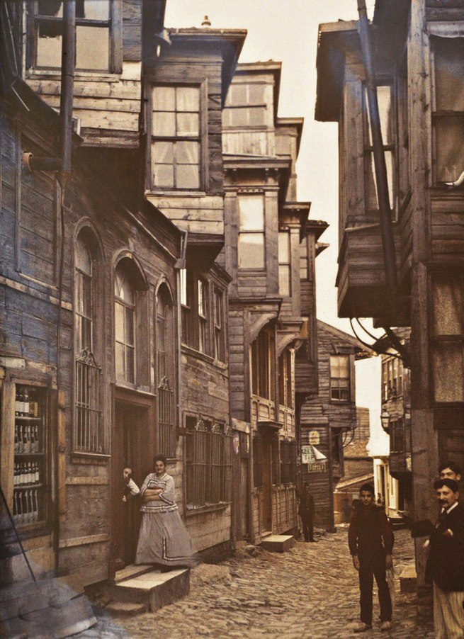 Stephane Passet. 'Turkey, Istanbul, Pera' (today: Beyoğlu) September 1912