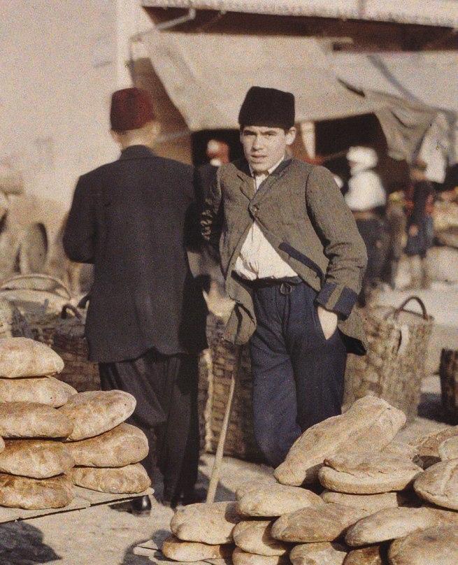 Auguste Leon. 'Bosnia-Herzegovina, Sarajevo' (detail) 15 October 1912