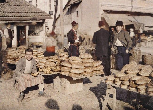 Auguste Leon. 'Bosnia-Herzegovina, Sarajevo' 15 October 1912