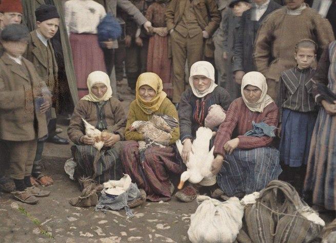 Auguste Leon. 'Serbia, Krusevac' 29 April 1913