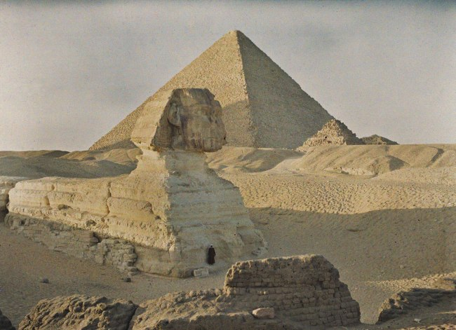 Auguste Leon. 'Egypt, Giza' 6 January 1914