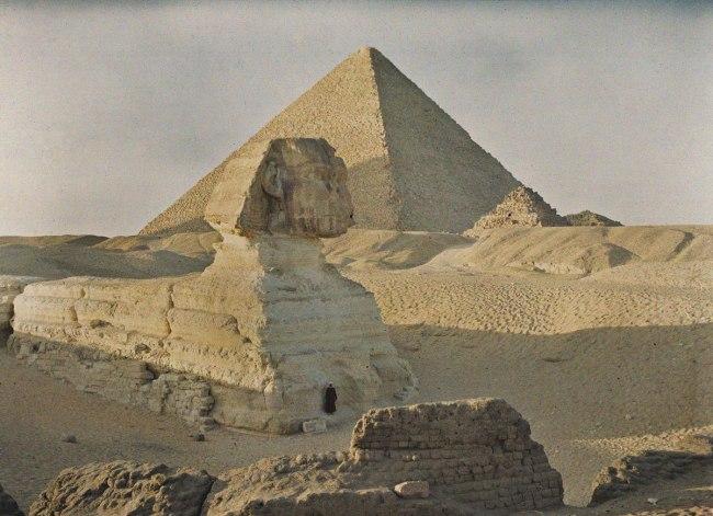 Auguste Leon. 'Egypt, Giza' 6 January 1914