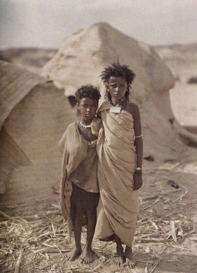 Auguste Leon. 'Egypt, Assuan' 20 January 1914