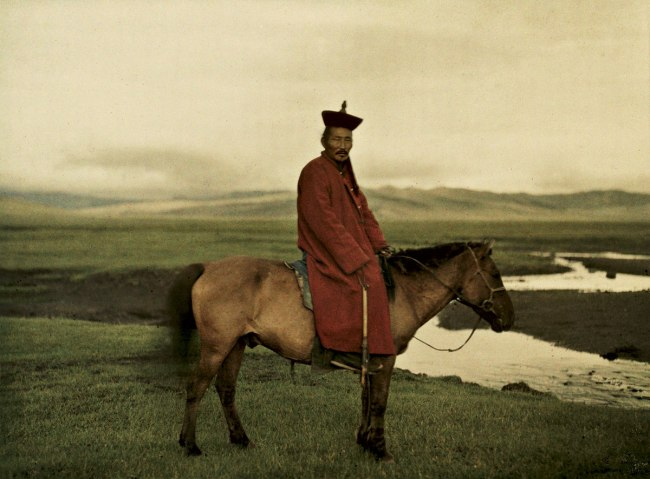 Stephane Passet. 'Mongolia, near Ulaanbaatar' 17 July 1913