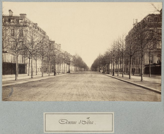 Charles Marville. 'Avenue d'Iéna' c. 1877