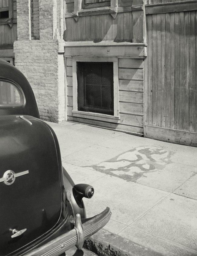"Minor White. '""Something Died Here,"" San Francisco, California' 1947"