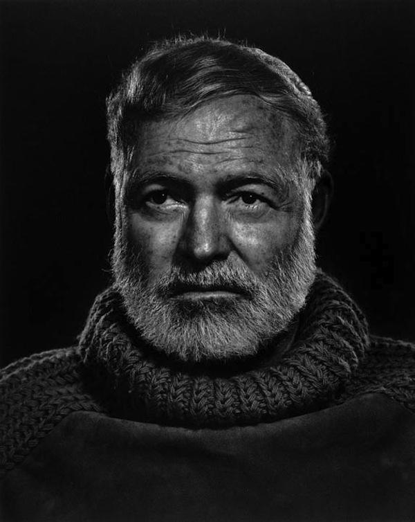 Yousuf Karsh. 'Ernest Hemingway' 1957