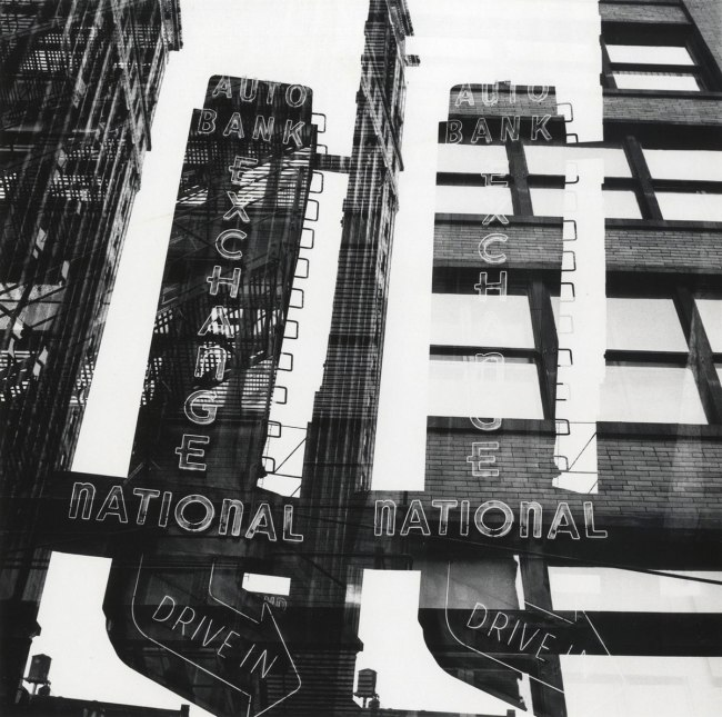 Ray K. Metzker. 'Chicago, Multiple exposure' 1958