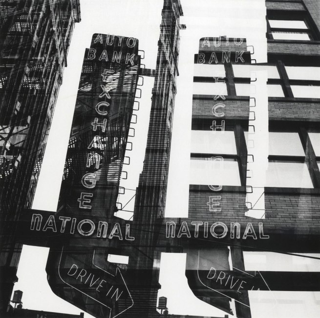 Ray K. Metzker. 'Chicago, Multiple exposure' 1958