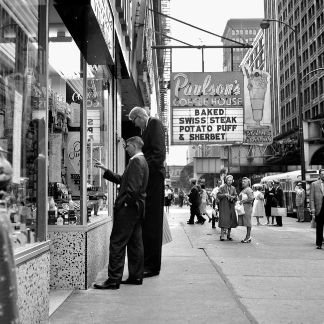 Vivian Maier. 'August 1960. Chicago, IL' 1960