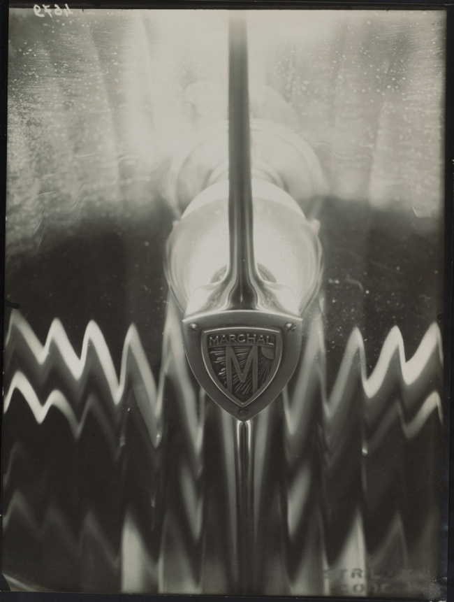 "Éditions Paul Martial, Paris. 'Car Headlights ""Marchal""' c. 1929-30"