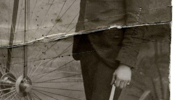William bicycle unrestored (detail)