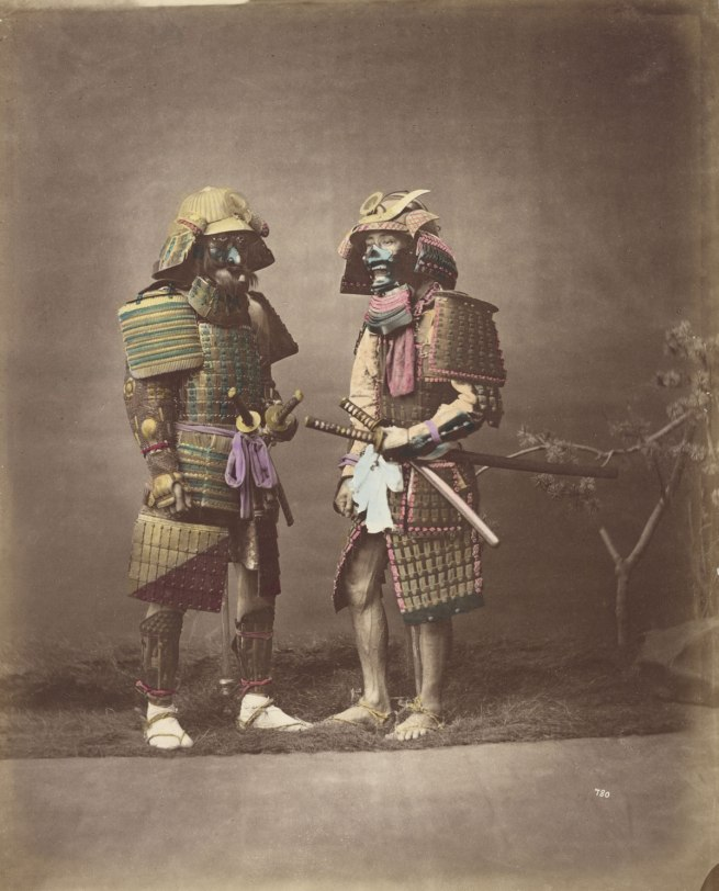 Baron Raimund von Stillfried. 'No title (Samurai in armour)' c. 1875