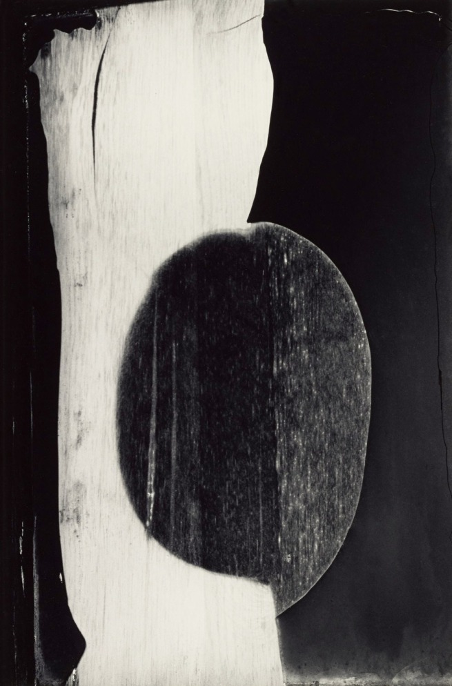 Minor White. 'Burned Mirror, Rochester, New York' 1959
