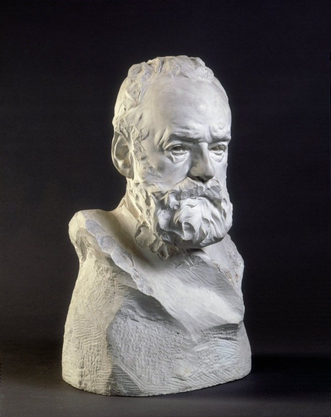Auguste Rodin. 'Victor Hugo, buste dit À l'Illustre Maître' (Victor Hugo, bust known as 'To the illustrious master') 1883
