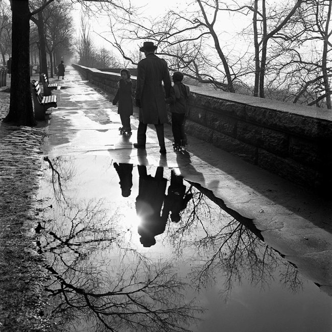 Vivian Maier. 'January, 1953, New York, NY'