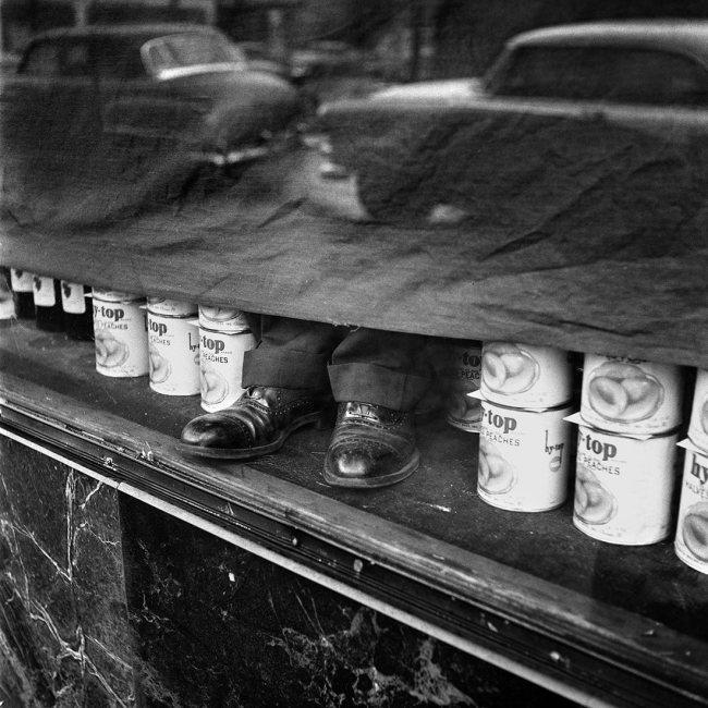 Vivian Maier. 'January 1956'