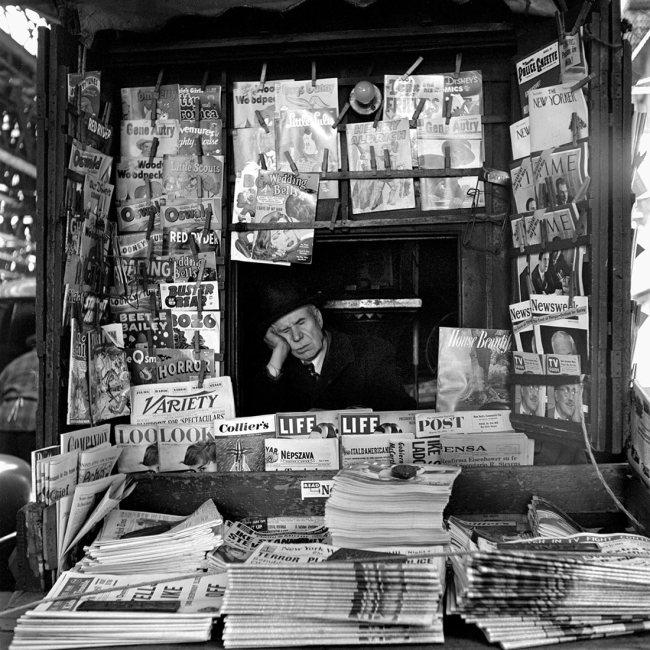 Vivian Maier. 'March 1954, New York, NY'