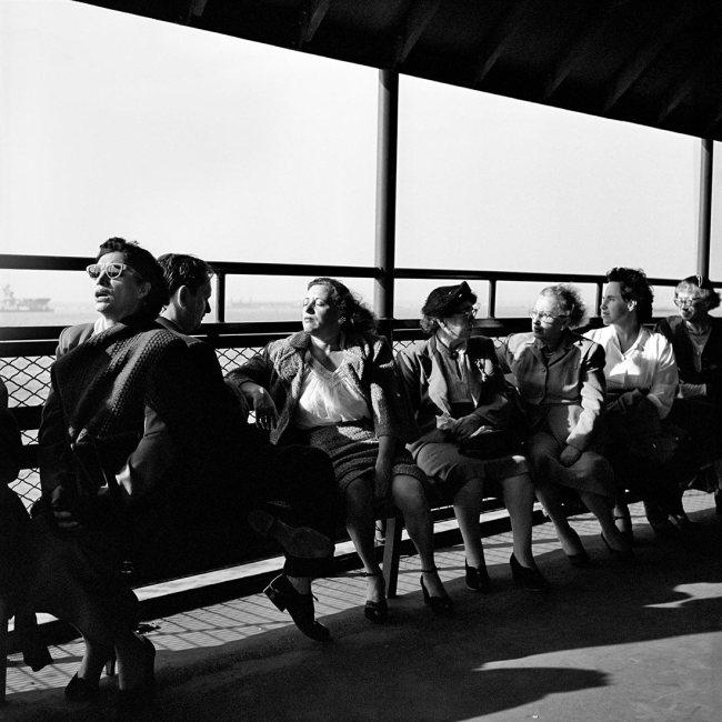 Vivian Maier. 'May 28, 1954, New York, NY'