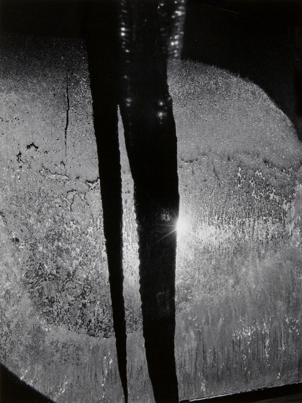 Minor White. 'Night Icicle, 72 N. Union Street, Rochester, New York' 1959
