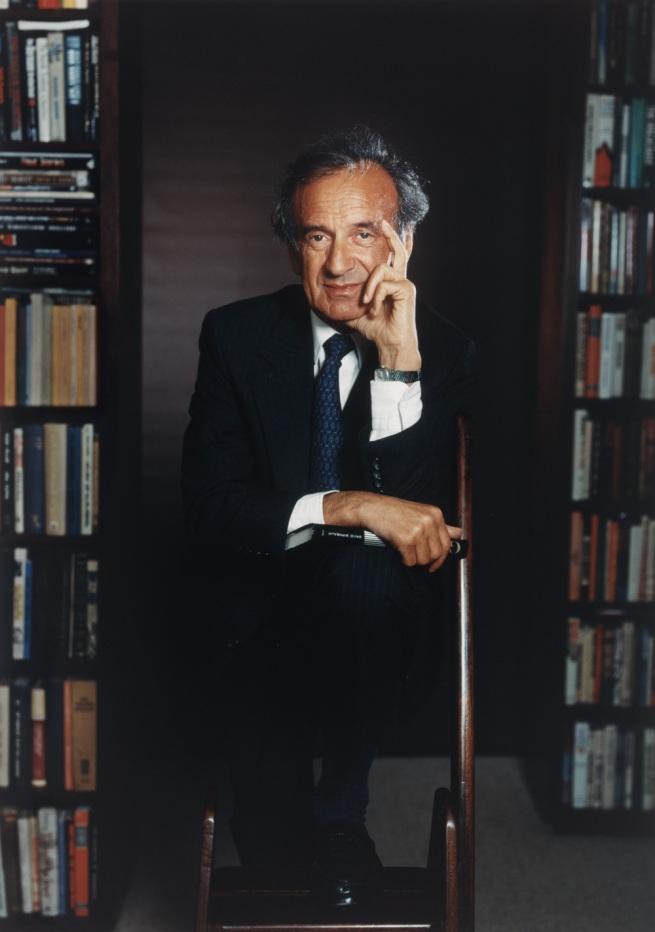 Yousuf Karsh. 'Elie Wiesel' 1991