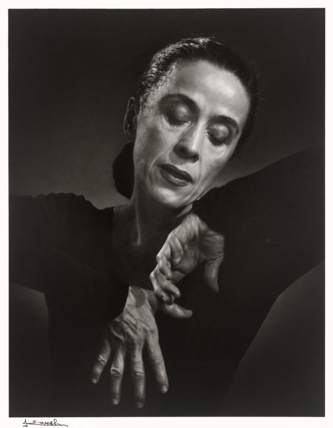 Yousuf Karsh. 'Martha Graham' 1948