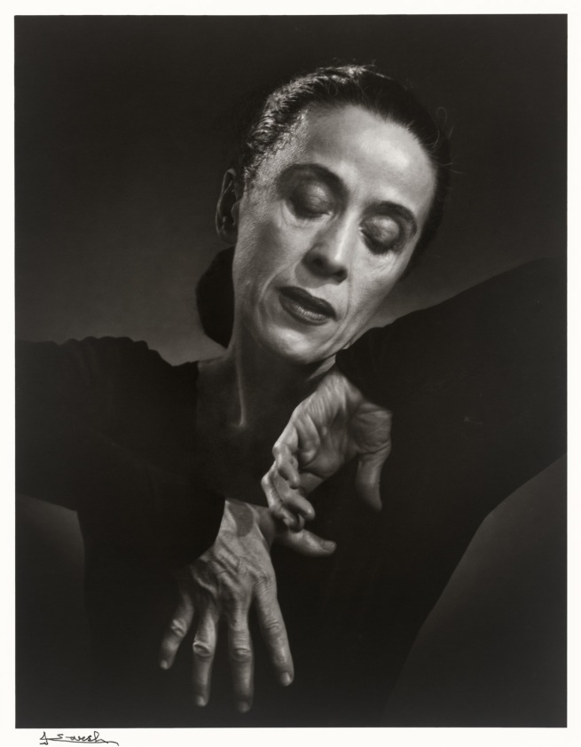 Yousuf Karsh. 'Martha Graham' 1948