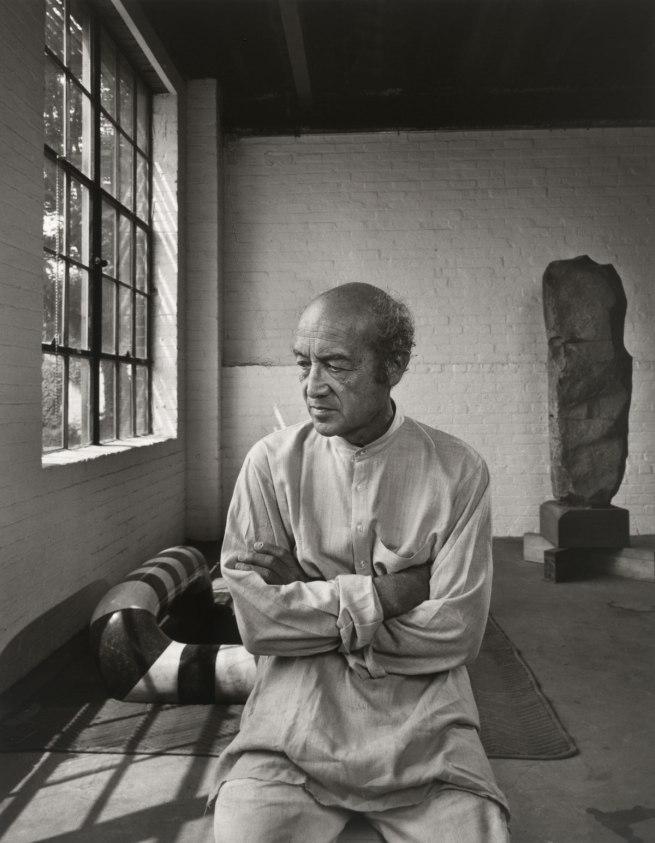 Yousuf Karsh. 'Isamu Noguchi' 1980