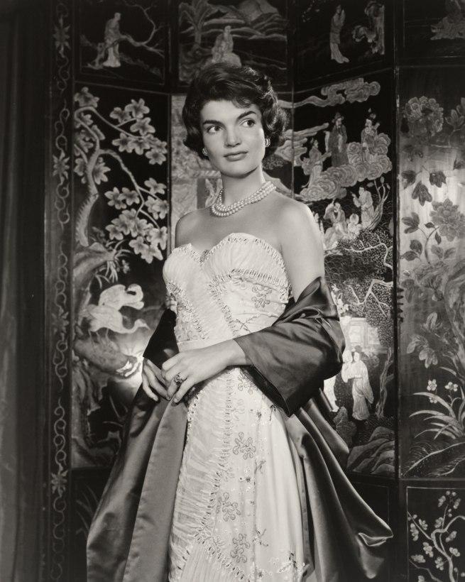 Yousuf Karsh. 'Jacqueline Kennedy Onassis' 1957
