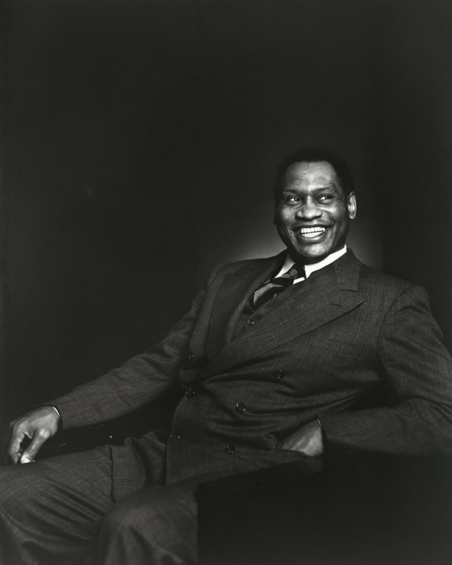 Yousuf Karsh. 'Paul Robeson' 1941