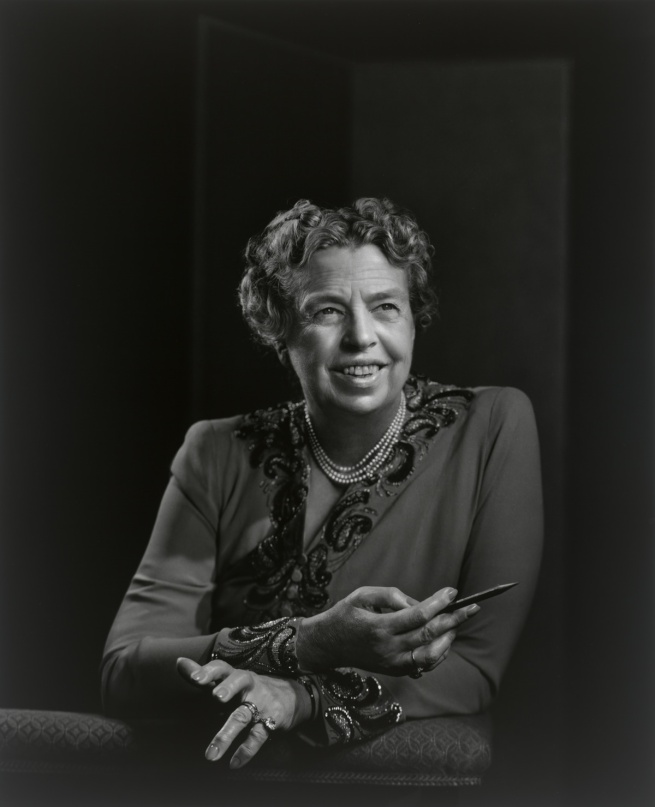 Yousuf Karsh. 'Eleanor Roosevelt' 1944