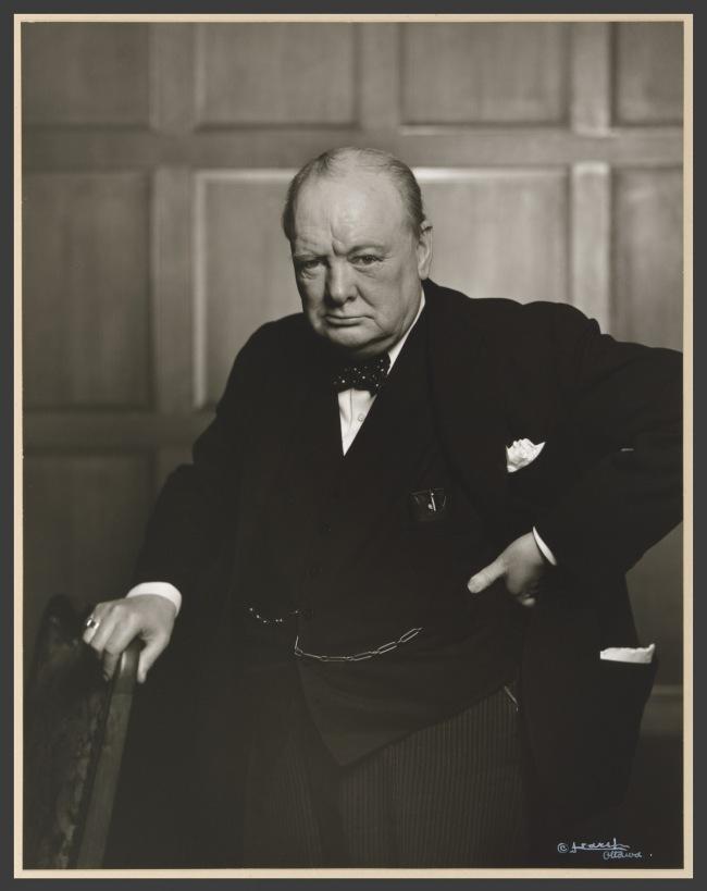 Yousuf Karsh. 'Sir Winston Leonard Spencer Churchill' 1941