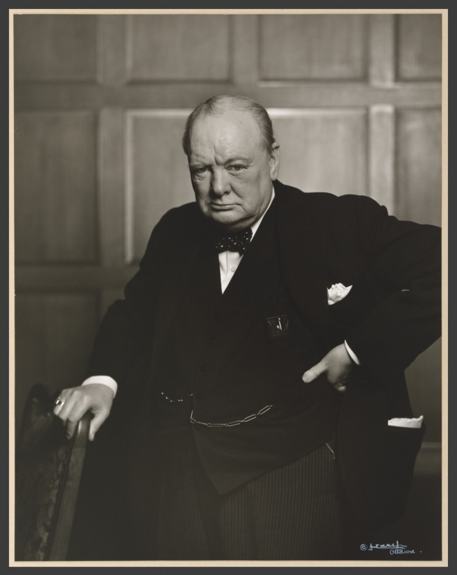 Yousuf Karsh. 'Sir Winston Leonard Spencer Churchill' 1941