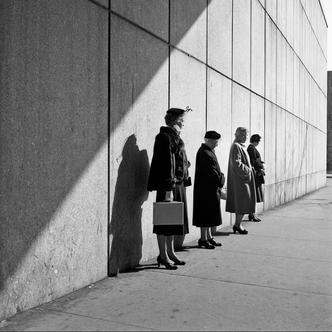 Vivian Maier. 'October 31, 1954. New York, NY'