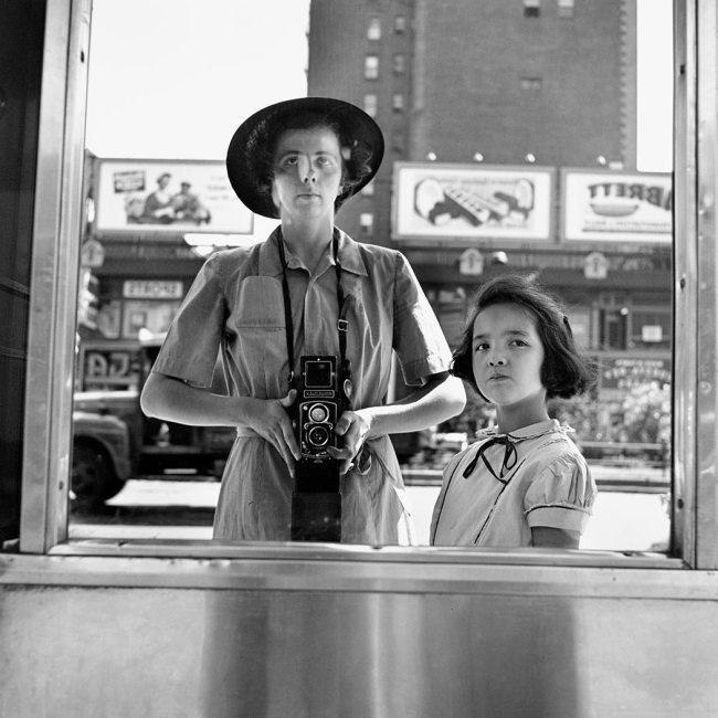 Vivian Maier. 'Self-Portrait, 1953'