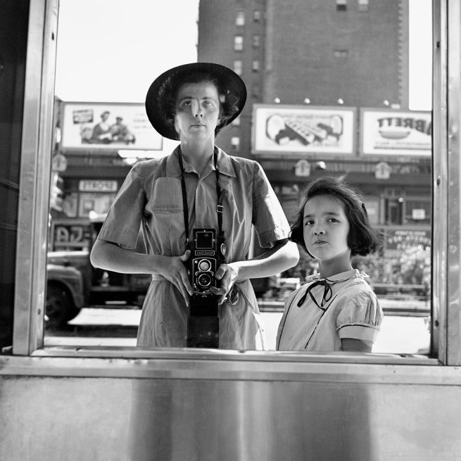 Vivian Maier. 'Self-Portrait, 1953'