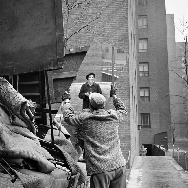 Vivian Maier. 'Self-Portrait, New York, February 3, 1955'
