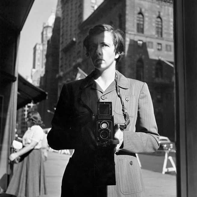 Vivian Maier. 'Self-Portrait; October 18, 1953, New York, NY'
