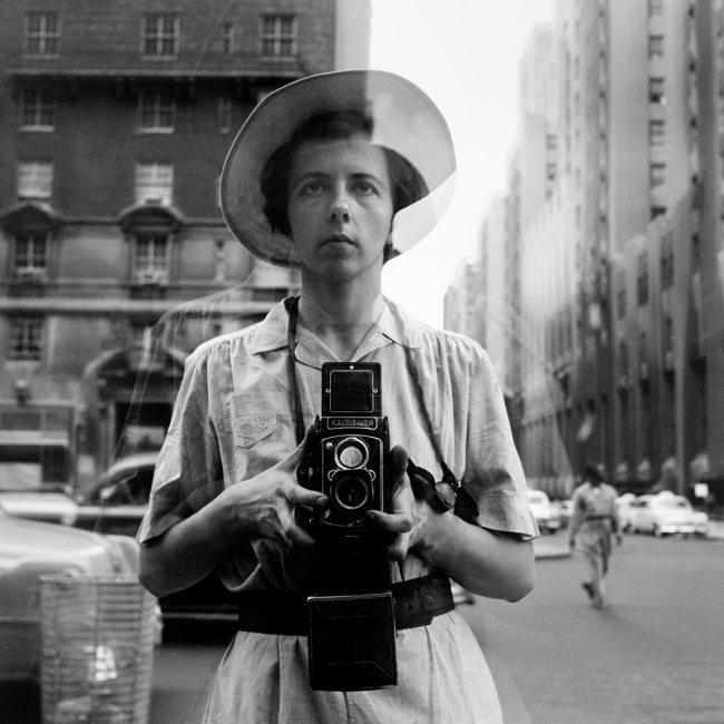 Vivian Maier. 'New York City, September 10, 1955'