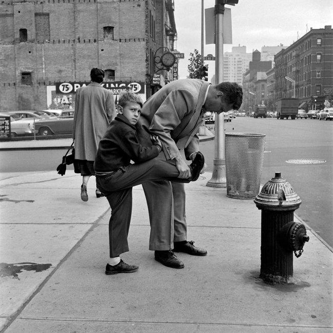 Vivian Maier. 'September 1956, New York, NY'